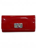 MIU MIU(ミュウミュウ)の古着「エナメル長財布」
