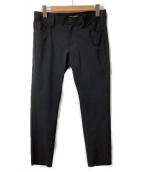 JUNYA WATANABE CDG(ジュンヤワタナベコムデギャルソン)の古着「ナイロンストレッチパンツ」|ブラック