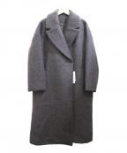 KBF(ケイビーエフ)の古着「ロングシャギーコート」|グレー