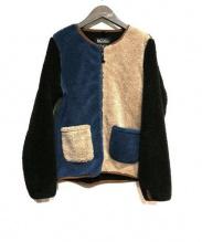 MANASTASH(マナスタッシュ)の古着「フリースジャケット」 クレイジーパターン