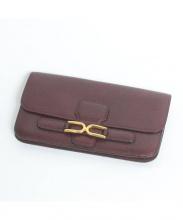 DELVAUX(デルヴォー)の古着「長財布」|ボルドー