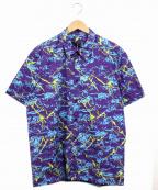 LOVE MOSCHINO(ラブモスキーノ)の古着「リキッドサンダープリントシャツ」