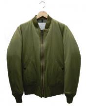 STAMMBAUM(シュタンバウム)の古着「ダウンMA-1ジャケット」|カーキ