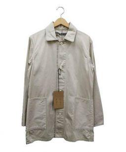 KATO(カトウ)の古着「コットンカバーオール」 ベージュ