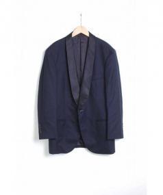 BRUNELLO CUCINELLI(ブルネロ クチネリ)の古着「カシミヤ1Bジャケット」|ネイビー