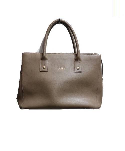 2cc1dda20c17 中古・古着通販】FURLA (フルラ) 2WAYショルダーバッグ ブラウン 布袋 ...