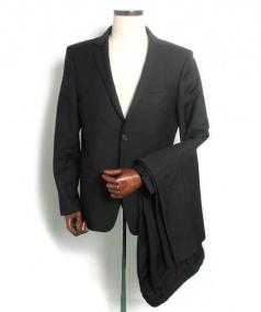 GIVENCHY(ジバンシィ)の古着「2Bスーツ」|ブラック