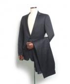 Dior Homme(ディオールオム)の古着「2Bスーツ」|ネイビー