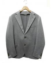 TOMORROW LAND PILGRIM(トゥモローランド ピルグリム)の古着「カシミヤ2Bジャケット」|グレー