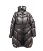 TATRAS(タトラス)の古着「ファー付ダウンコート」 ブラック