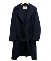 Traditional Weatherwear(トラディショナルウェザーウェア)の古着「ガウンメルトンコート」 ネイビー