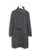 UNITED ARROWS(ユナイテッドアローズ)の古着「アンゴラウールスタンドコート」 グレー