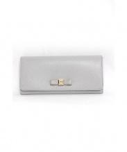 FURLA(フルラ)の古着「2つ折り長財布」|グレー
