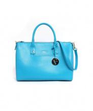 FURLA(フルラ)の古着「2WAYバッグ」|ターコイズブルー