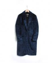 MSGM(エムエスジーエム)の古着「エコファーチェスターコート」|ネイビー
