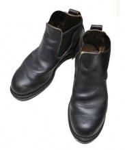SHIPS AUTHENTIC PRODUCT(シップス・オーセンティック・プロダクツ)の古着「レザーブーツ」|ブラック