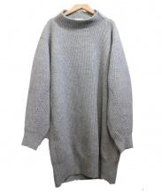 ELENDEEK(エレンディーク)の古着「BIGルーズニットワンピース」|グレー