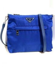 PRADA(プラダ)の古着「ショルダーバッグ」|ブルー