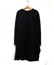 DKNY(ダナキャランニューヨーク)の古着「モダンラックスポンテワンピース」 ブラック