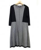 SONIA RYKIEL(ソニアリキエル)の古着「フローレンスイリゼワンピース」|ブラック