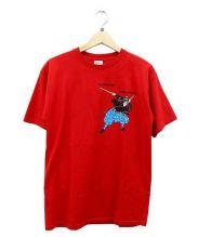SUPREME(シュプリーム)の古着「Musashi Tee/プリントTシャツ」 レッド