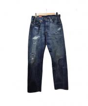 Levi's VINTAGE CLOTHING(リーバイスヴィンテージクロージング)の古着「501XX 1947モデルデニムパンツ」|ブルー