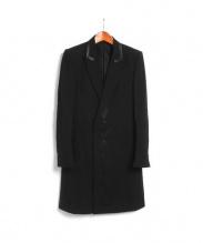 NUMBER (N)INE(ナンバーナイン)の古着「パッチ付チェスターコート」|ブラック