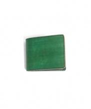 RE.ACT(リアクト)の古着「2つ折り財布」|グリーン