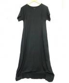 LEMAIRE(ルメール)の古着「ベルト付ジャージーワンピース」|ブラック