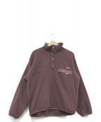 Patagonia(パタゴニア)の古着「シンチラプルオーバージャケット」|ブラウン