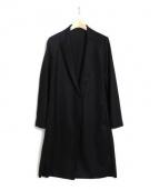 LAUTRE AMONT(ロートレアモン)の古着「スムースコーディガン」|ブラック