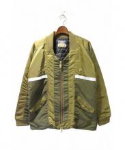 blackmeans(ブラックミーンズ)の古着「MA-1ジャケット」|カーキ
