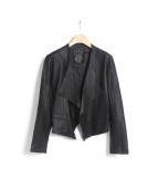 Rawtus(ロゥタス)の古着「レザージャケット」|ブラック