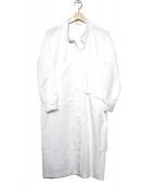DIRECTOIRE(ディレクトワール)の古着「リボンアシメシャツワンピース」