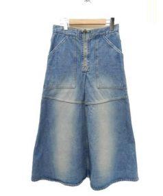Drawer(ドロワー)の古着「デニムスカート」|インディゴ