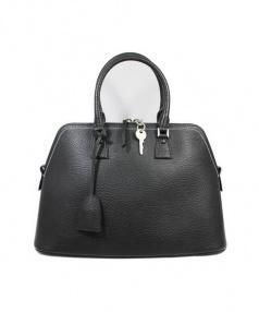 Maison Margiela(メゾンマルジェラ)の古着「5ACレザーショルダーバッグ」|ブラック