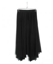 Diagram GRACE CONTINENTAL(ダイアグラムグレースコンチネンタル)の古着「ロングプリーツスカート」|ブラック