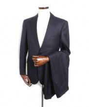 三陽山長(サンヨウヤマチョウ)の古着「2Bスーツ」 ネイビー