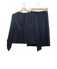 ANAYI(アナイ)の古着「スカートスーツ」|ネイビー