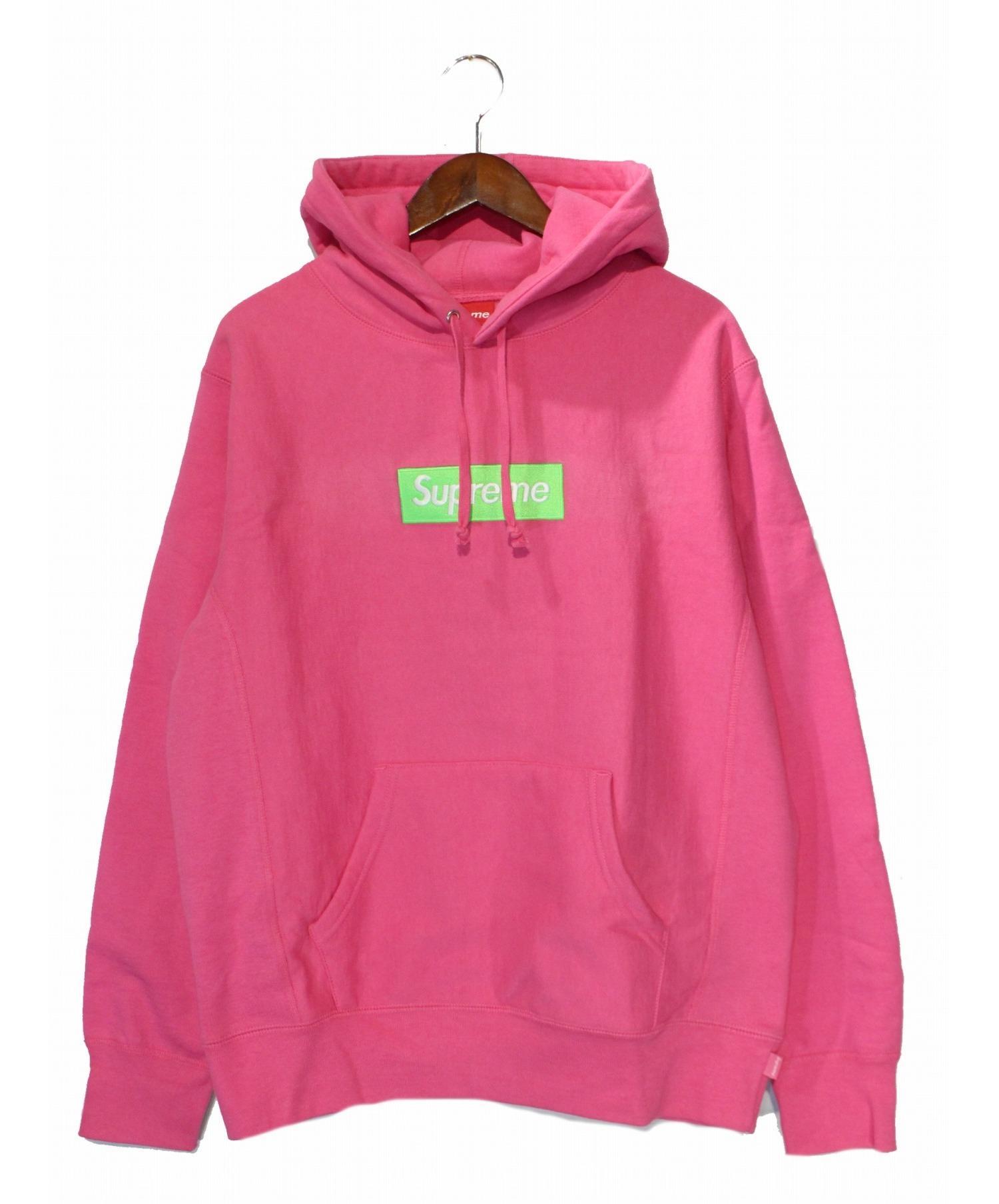 Hoodies & Sweatshirts Good Supreme Pink Hooded Sweatshirt Hoodie Size Large Activewear