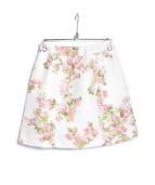 Aveniretoile(アベニールエトワール)の古着「フラワープリントスカート」 ライトピンク