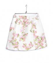 Aveniretoile(アベニールエトワール)の古着「フラワープリントスカート」|ライトピンク