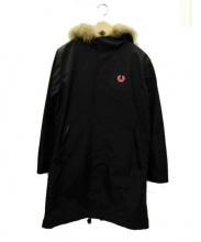 FRED PERRY(フレッドペリー)の古着「モッズコート」|ブラック