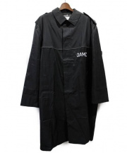 OAMC(オーエーエムシー)の古着「PEACEMAKER TRENCH/コート」 ブラック