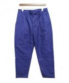 ACNE STUDIOS(アクネステュディオス)の古着「18SS Ayranタックパンツ」 ブルー