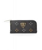 ATAO(アタオ)の古着「L字ファスナー財布」|ブラック