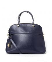 FURLA(フルラ)の古着「2WAYバッグ」|ロイヤルブルー
