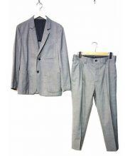 MARGARET HOWELL(マーガレットハウエル)の古着「2Bスーツ」|グレー