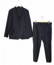 MARGARET HOWELL(マーガレットハウエル)の古着「2Bスーツ」|ネイビー