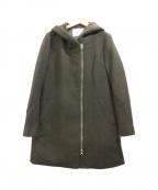 BAYFLOW(ベイフロー)の古着「メルトンジップコート」 オリーブ